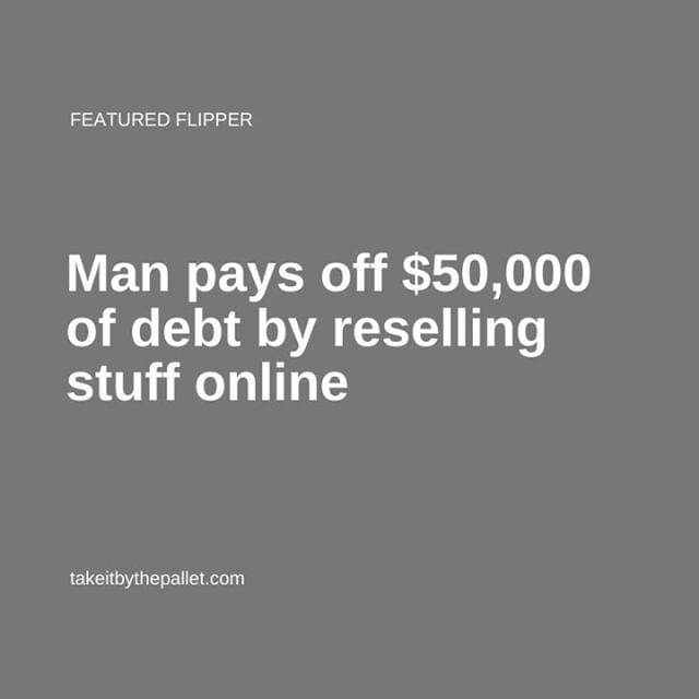 Man pays off 50000