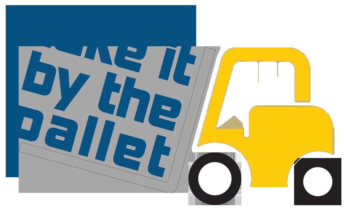 Take It By The Pallet Logo